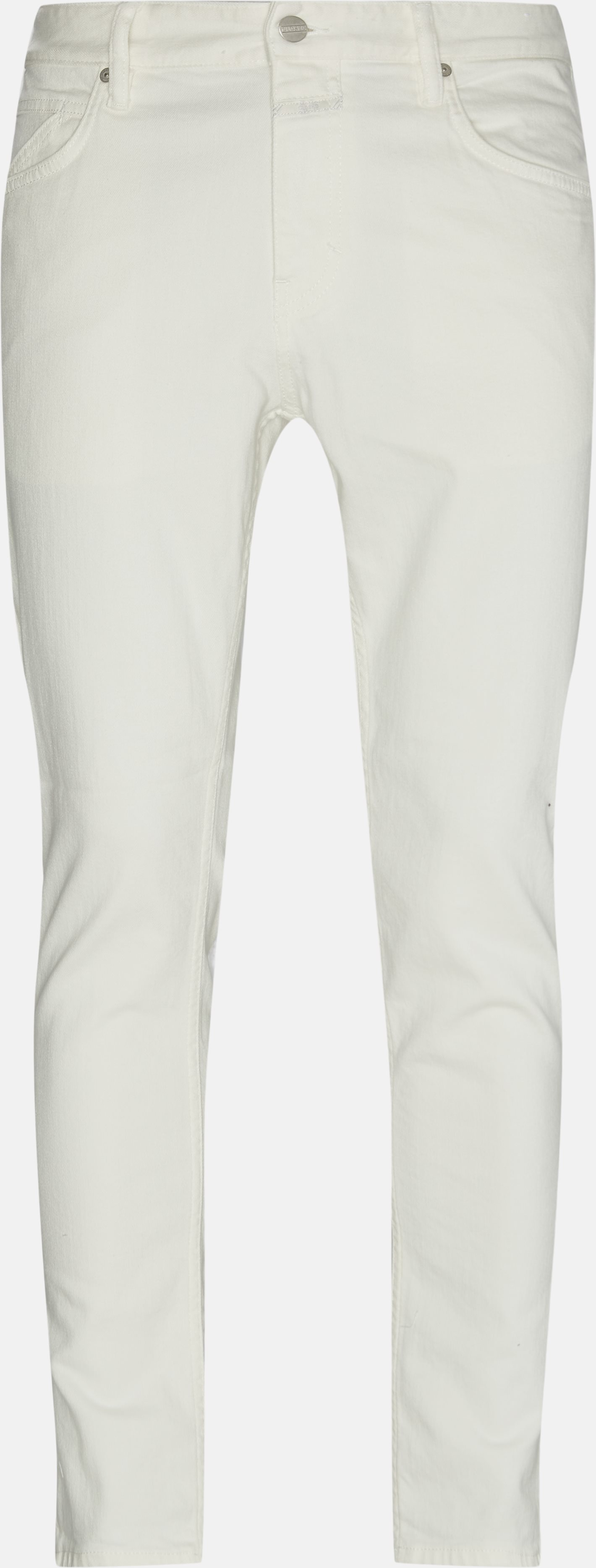 Jeans - Slim - Hvid